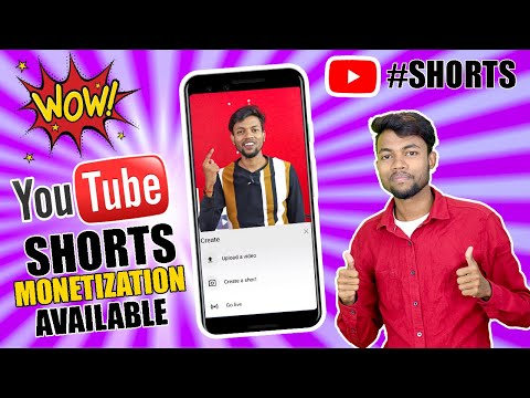Good News | Monetization Available On Youtube Shorts |- How to create a video on youtube shorts ?