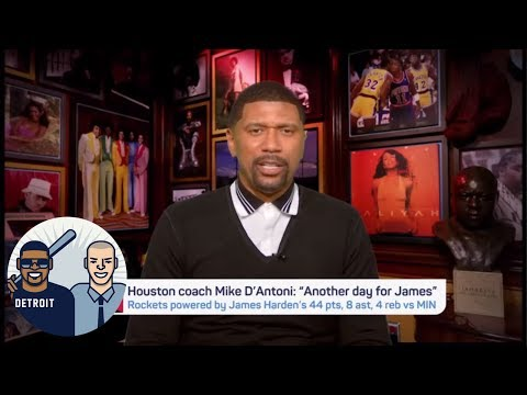 Jalen Rose is a little worried about the Rockets' offense in the playoffs | Jalen & Jacoby | ESPN