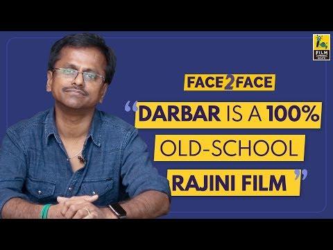 AR Murugadoss Interview With Baradwaj Rangan | Face 2 Face | Darbar | Subtitled