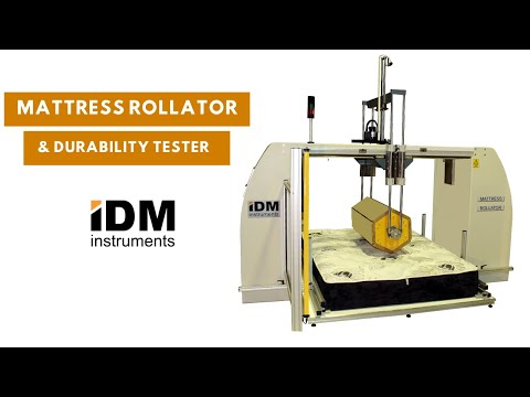 Mattress Rollator and Durability Tester