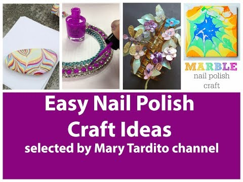 Positive quotes - Easy Nail Polish Crafts Ideas