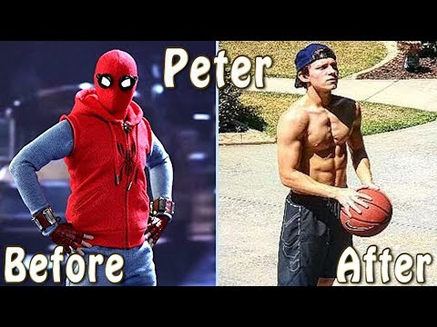 Spider-Man: Homecoming Cast  ★ Before And After