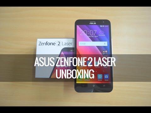ASUS Zenfone 2 Laser (ZE550KL) Unboxing