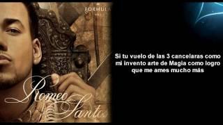 Llévame Contigo Romeo Santos Letra Formula YouTube
