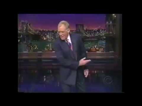 David Letterman Intro Compilation
