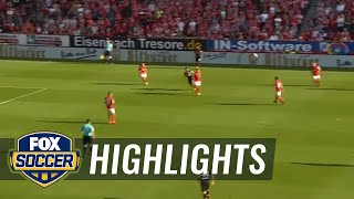 Watch Chicharito's full hat trick against Mainz | 2016-17 Bundesliga Highlights by FOX Soccer