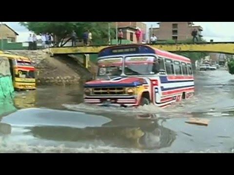 Βολιβία: Μετά από μήνες ξηρασίας, ήρθαν οι πλημμύρες
