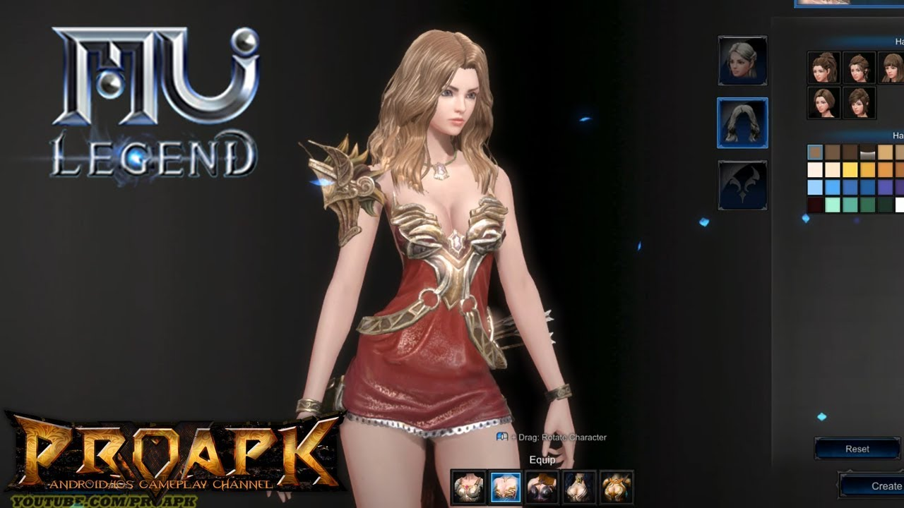 MU Legend: Hack & Slash MMORPG