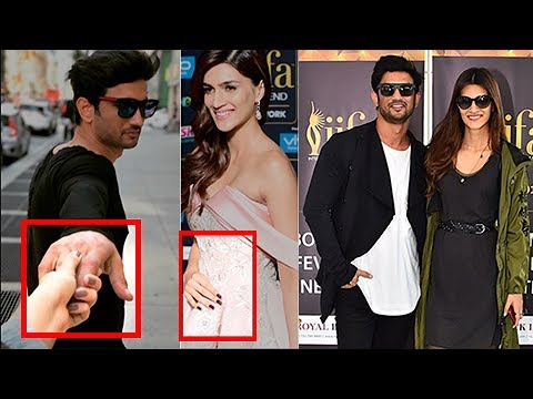 Sushant Singh Rajput Kriti Sanon Throw Hint On Their Love Affair