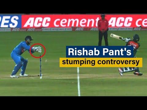 Rishabh Pant's Stumping Controversy Explained | India Vs Bangladesh T20 | Analysis Series