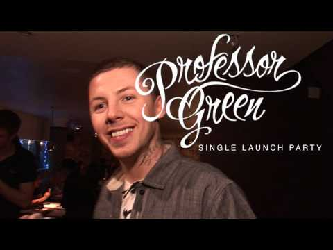 Professor Green - Single Launch Party (Video Diary)
