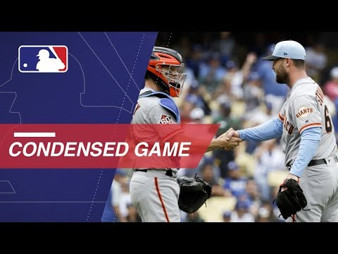 Condensed Game: SF@LAD - 6/17/18