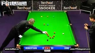丁俊晖Ding Junhui Vs Neil Robertson ~2012 Premier League Snooker - Final Event 9