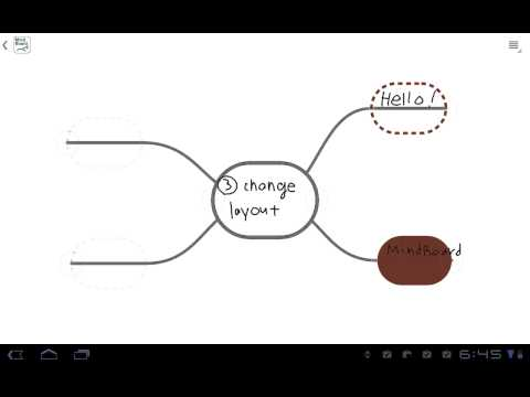 Video of MindBoard Free (mind mapping)