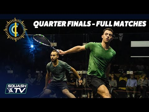 Squash: CCI International 2019 Quarter Finals - Full Matches
