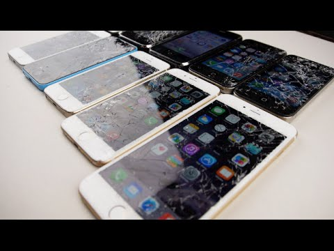 iPhone 6 Plus vs 6 vs 5S vs 5C vs 5 vs 4S vs 4 vs 3GS vs 3G vs 2G Drop