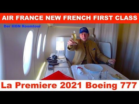 AIR FRANCE NEW La Premiere 2020 | The French First Class 777 | Der HON Roomtour