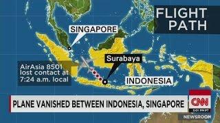 AirAsia Jet Vanishes During Flight