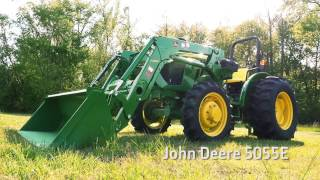 John Deere 5E Series vs. Kubota MX Video