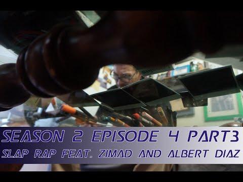 SLAP RAP l Season 2 EP 4 Part 3 l Feat. ZIMAD and ALBERT DIAZ l NYC Street Art Podcast