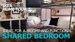 Shared Bedroom Ideas - IKEA Home Tour (Episode 306)