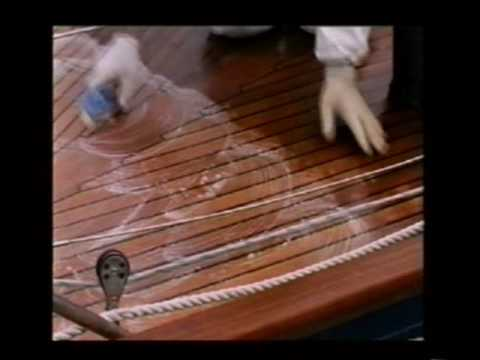 teak - Teak Wonder Deck Cleaning Demo.