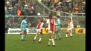 Felix Gasselichs Traumtor als Ajax-Legionär gegen Utrecht (1984)