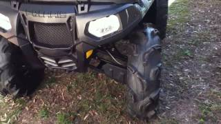 5. 2009 Polaris Sportsman XP 550 Walk Around