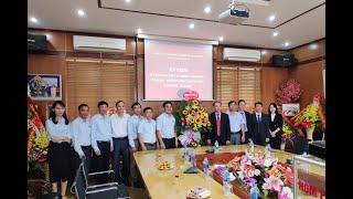 Bí thư Thành ủy Trần Văn Lâm chúc mừng các đơn vị ngành Than