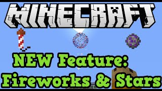Minecraft Xbox (360 + One) Firework Rocket & Firework Star (TU19 New Features)