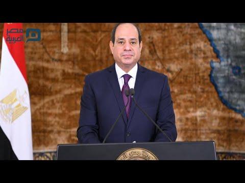 رسائل من السيسي للمصريين في مواجهة تداعيات كورونا