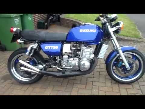 suzuki gt750 two stroke b.m.r.racing