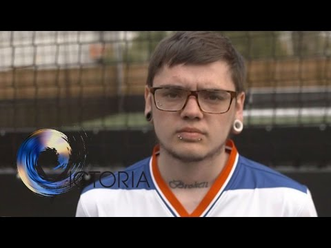 'Football has saved my life' - BBC News