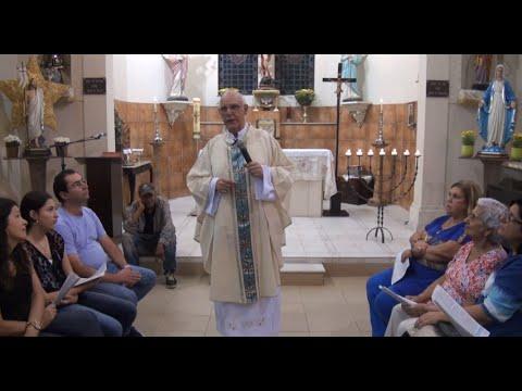 VÍDEO: Homilia do Pe. Julio no 3º Domingo da Páscoa