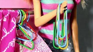 Video Kendin Yap Bölüm 5 | Barbie Elbiseleri için Askılık nasıl yapılır | Evcilik TV MP3, 3GP, MP4, WEBM, AVI, FLV November 2017