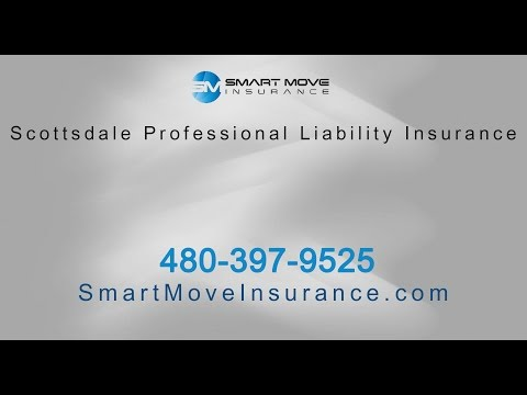 Scottsdale Professional Liability Insurance by Smart Move
