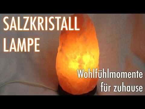 Salzkristalllampe: Verschönern Sie Ihr Zuhause mit einer Lampe aus Salz