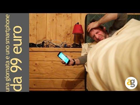 una giornata con uno smartphone da 99 euro