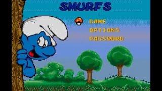 Sega Mega-CD Longplay [079] The Smurfs