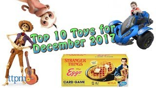 Top 10 Toys in December 2017