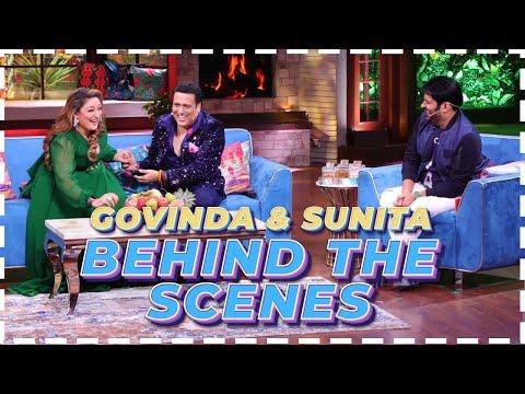 Behind The Scenes With This Amazing Jodi | The Kapil Sharma Show | Govinda, Sunita Ahuja