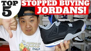 "** Alternate AJ4 Winner is Cameron Carter! Congrats!https://www.youtube.com/channel/UCcldlrNEJEnLsr3Zz9MjUbw/aboutWATCH HERE! TOP 5 SNEAKER VIDEOS http://bit.ly/2bBWsR5Shop best sneaker deals of the week here! http://bit.ly/2kuwqFv Shop Reshoevn8r Sneaker Cleaner & Products (use code HESKICKS for 10% off!) http://bit.ly/2g7eQBRSub To my son Heskicks Jr's Channel! http://bit.ly/2dtdykIShop My Favorite Sneaker Sites Here!Nikestore New Items: http://bit.ly/2jXegfhClearance http://bit.ly/2j18s06Adidas New Releases: http://bit.ly/2hZi9vyKicksUSA New Items http://bit.ly/293JMhLUBIQ New Items http://bit.ly/293JZS9Social Media for Heskickshttp://www.youtube.com/heskickshttp://www.twitter.com/heskickshttp://www.instagram.com/heskicksBusiness Contact email : heskicks@gmail.comShop Angelus Custom Paint for Sneaker http://bit.ly/2qY1qAKAbout Heskicks: Hes Kicks is a sneaker Youtuber that owns the sneaker blog site http://www.collectivekicks.com.  Heskicks reviews sneakers and posts sneaker related discussion videos. Heskicks has been collecting sneakers since 2003, and is an avid fan of anything sneaker related.Why I stopped buying Jordan Retros The other day I tweeted that I currently buy Ultra Boost Like I used to buy Jordan Retros… find out in this video why…Intro Let me start by saying I am still a fan of the JB, and they still have pairs I will want to cop 5- $190 for retros still, no ""remastered"" Market is not willing to pay $190 for a pair that will go on sale a week later (see Tblakes vid)JB killed more than the resale market by raising the prices and producing more… next point 4- We don't need a new pair of Jordans to drop every week. Variety is nice to see, but massive GR every week is not needed. 3- Only so many OG colorways to retro New colorway overload, even for collectors. What started as a handful of CWs, is now dozens and dozens of CWs! Cant ever keep up  2- Comfort is king right now. Which is why i have been buying Ultra Boost, Pure Boost, NMDs, Yeezys, and 93/17 Boost. 1 – No more FOMO. Nostalgia is gone. Personally grown up past the ""storytelling"" of sneakers to simply sell the product.  Feels like JB is trying too hard sometimes to move the products."