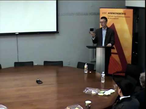 Annenberg Research Seminar - Jim Dempsey