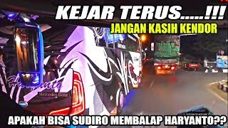 Video [HD] Adu Kecepatan Bus Sudiro Tungga Jaya Dengan Bus Haryanto MP3, 3GP, MP4, WEBM, AVI, FLV September 2018