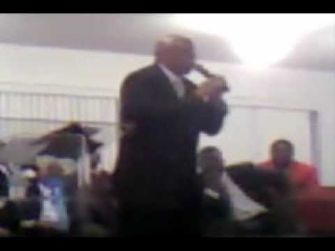 Alfred Smith at Pastor Stewart's Appreciation 2009 Part 2