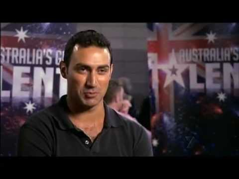 Sam McCool - Very Funny Comedian - Australia's Got Talent 2012 audition 3 [FULL]