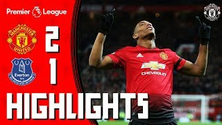 Download Video Highlights | Manchester United 2-1 Everton | Martial Stunner Seals the Points! MP3 3GP MP4