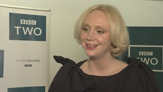 Game of Thrones star Gwendoline Christie reveals her on-screen bestie is her Top of the Lake co-star Elizabeth Moss. Report by April Brown.