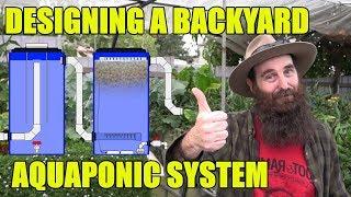Aquaponics Design | Backyard System for Pat