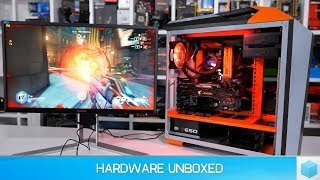 Check prices now & support HUB...AOC AG251FZ 240Hz - http://amzn.to/2t3BVuPAMD Ryzen 5 1600 - http://amzn.to/2tYxlT1Asrock Fatal1ty X370 Gaming K4 - http://amzn.to/2tYHr6fCooler Master MasterCase Maker 5t - http://amzn.to/2u3dB05Cooler Master MasterLiquid Pro 280 - http://amzn.to/2u8dAZzCooler Master V Series 650W - http://amzn.to/2u2OUkuCooler Master MasterFan Pro 120 Air Balance RGB - http://amzn.to/2u8kWwpGigabyte Aorus RX 580 XTR 8G - http://amzn.to/2u8vCeeSamsung 850 Evo 500GB - http://amzn.to/2sFgeluSeagate 2TB FireCuda - http://amzn.to/2txILvUSupport us on Patreonhttps://www.patreon.com/hardwareunboxedFOLLOW US IN THESE PLACES FOR UPDATESTwitter - http://twitter.com/hardwareunboxedFacebook - http://facebook.com/hardwareunboxedGoogle Plus - http://goo.gl/xx14UjInstagram - https://goo.gl/8lhprrMusic By: https://soundcloud.com/lakeyinspired